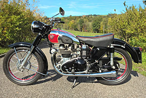 Matchless G9 500 twin Bj. 1955